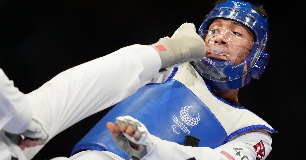 Taekwondo Takes Its First Spin at the Paralympics