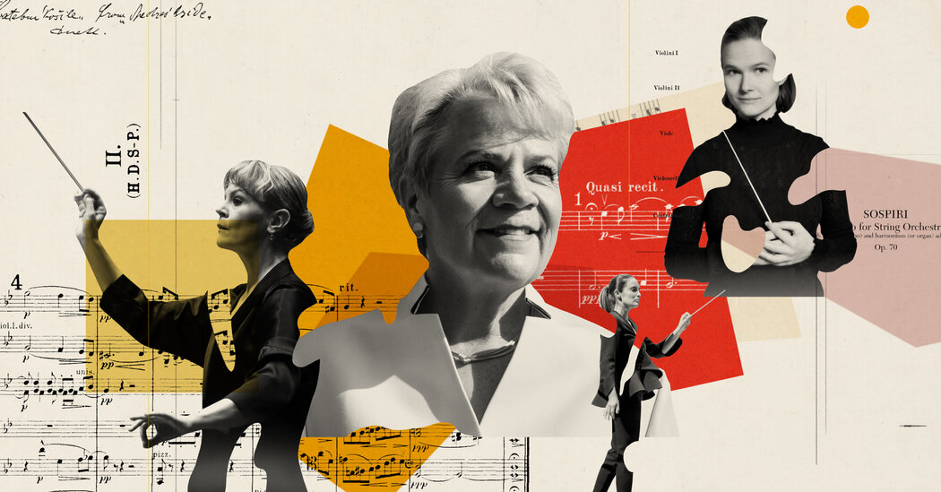 Top Orchestras Have No Female Conductors. Is Change Coming?