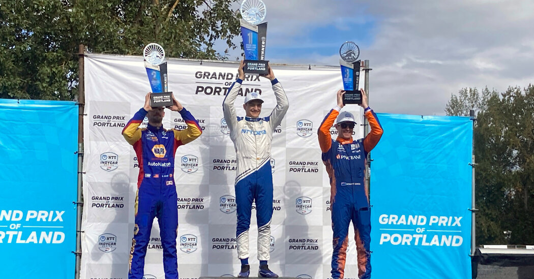 With a Win in Portland, Alex Palou Reclaims His IndyCar Lead