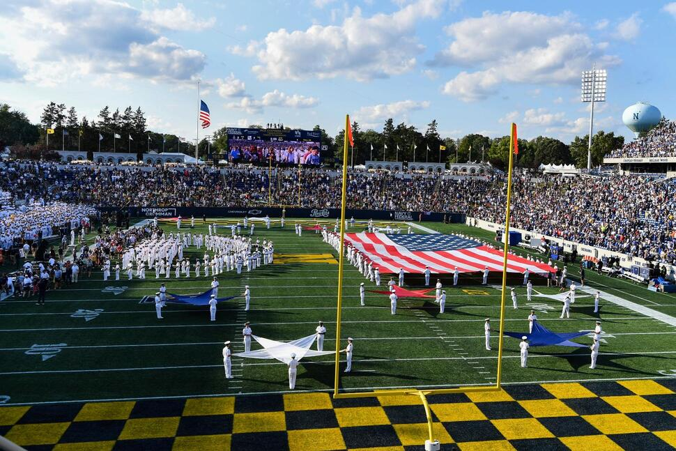 Navy Hosts Air Force as Sports World Remembers 9/11