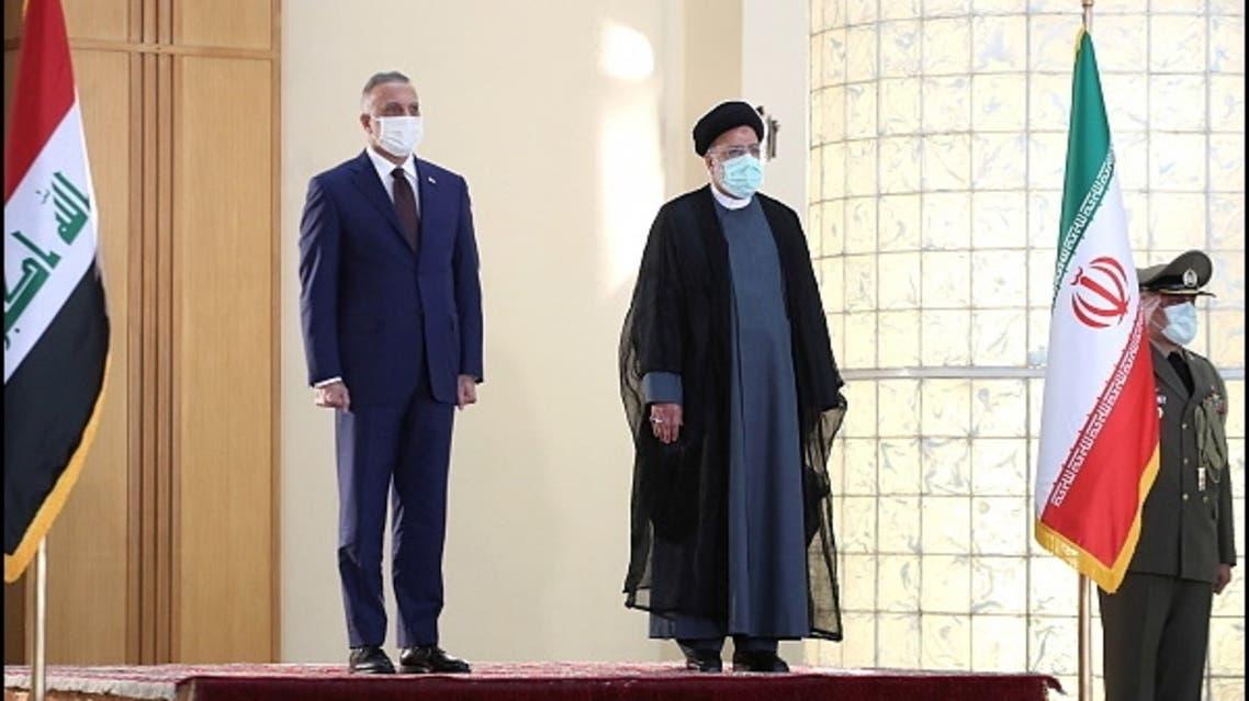 Iran, Iraq agree to cancel visa requirements as Kadhemi meets Raisi