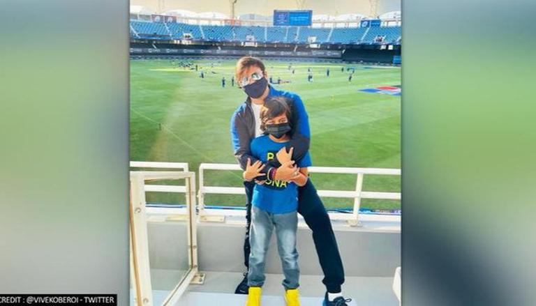 IPL 2021: Vivek Oberoi Spends 'super Day' With Son At MI Vs CSK Match In Dubai