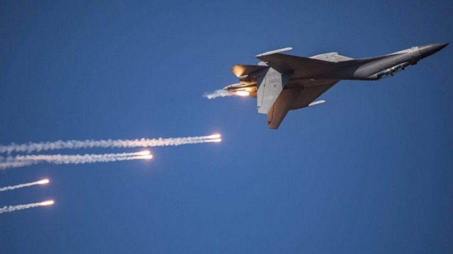 Record Chinese warplane intrusion into Taiwan's skies
